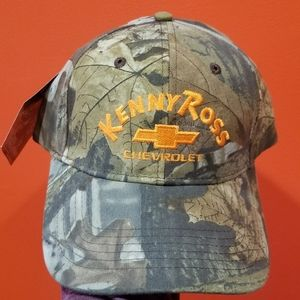 NWT Kenny Ross Chevrolet Camo Hat